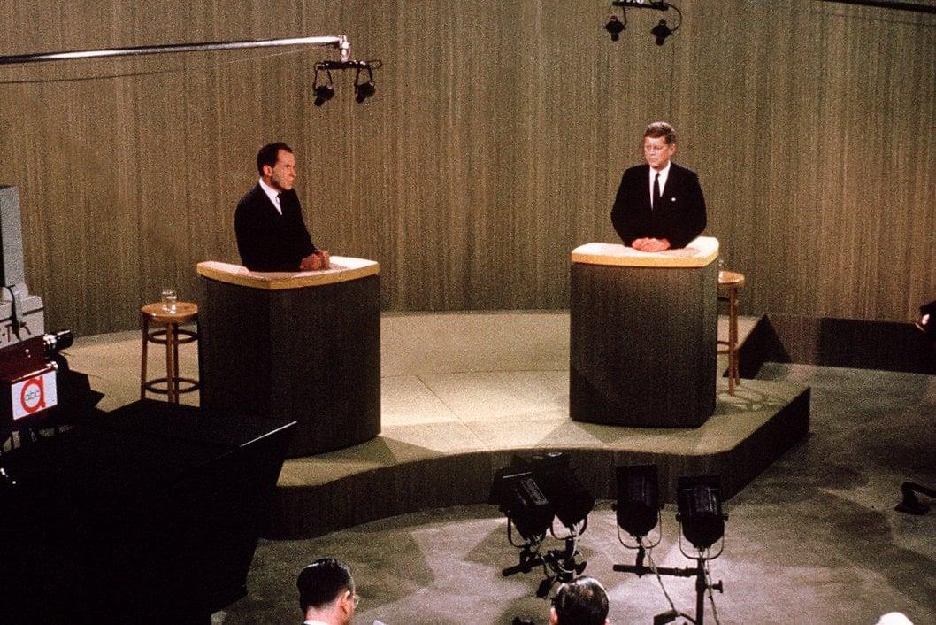 Kennedy-Nixon political debate 1960