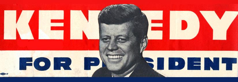 Kennedy for president bumper sticker