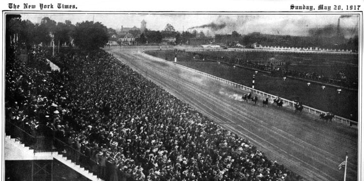 Kentucky Derby in The New York Times, May 20, 1917