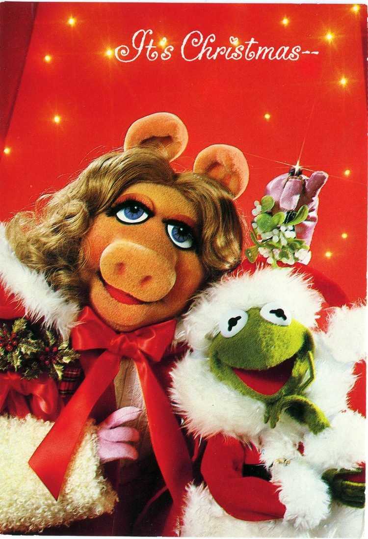 Kermit & Miss Piggy (Muppets) card