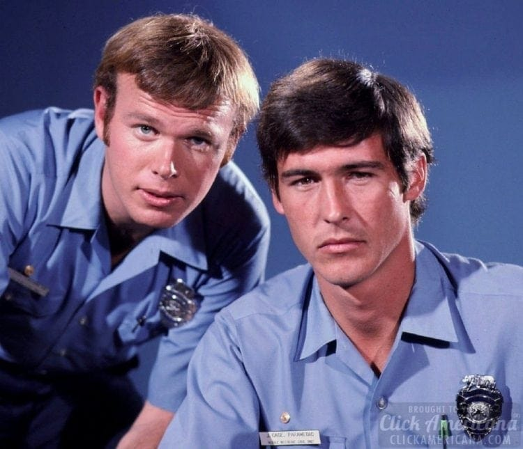 Kevin Tighe and Randolph Mantooth in Emergency