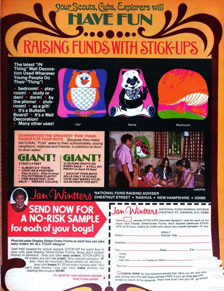 Kids fundraising things to sell from 1972 (3)