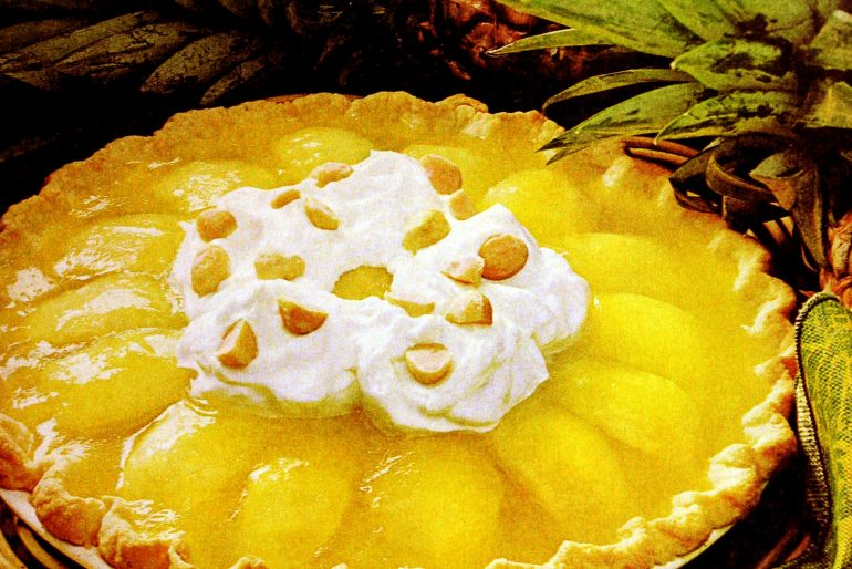 King Kamehameha pie recipe from the 1970s