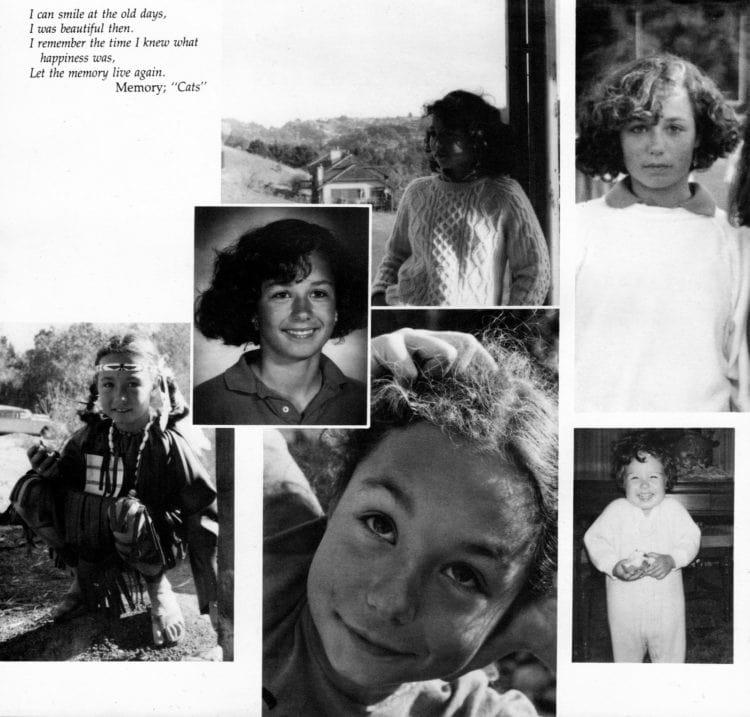 Kirsten Costas yearbook memorial childhood photos (1)