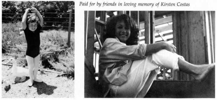 Kirsten Costas yearbook memorial childhood photos (2)