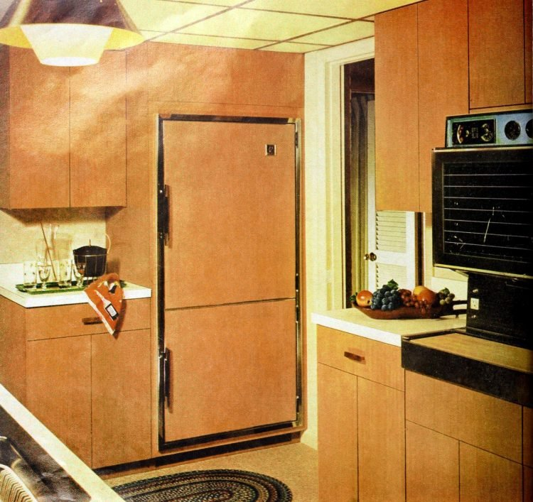 Retro kitchen design and decor