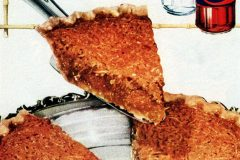 Ko-ko-nut pie Vintage 50s coconut dessert recipe