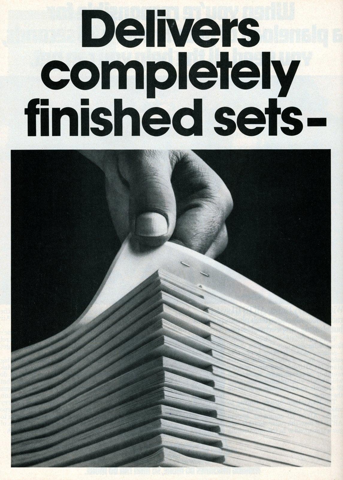 Kodak Ektaprint AF copier-duplicators (1976)