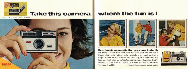 Kodak Instamatic camera - 1966