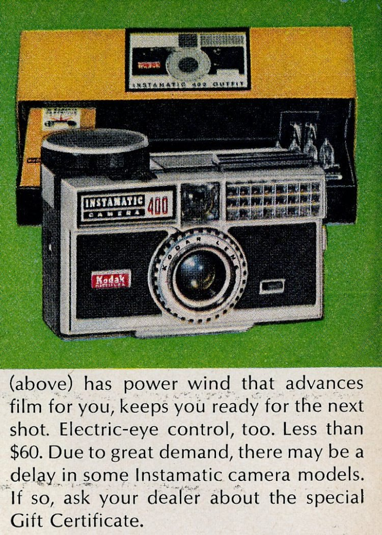 Kodak Instamatic cameras from 1963 (1)