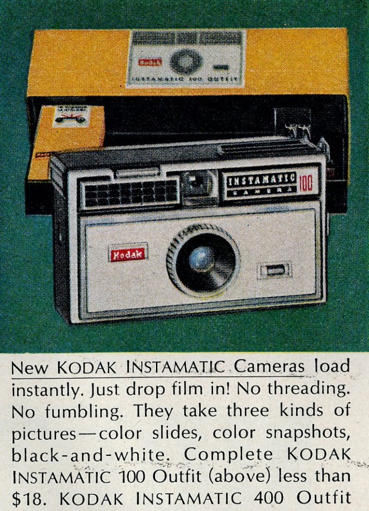 Kodak Instamatic cameras from 1963 (2)