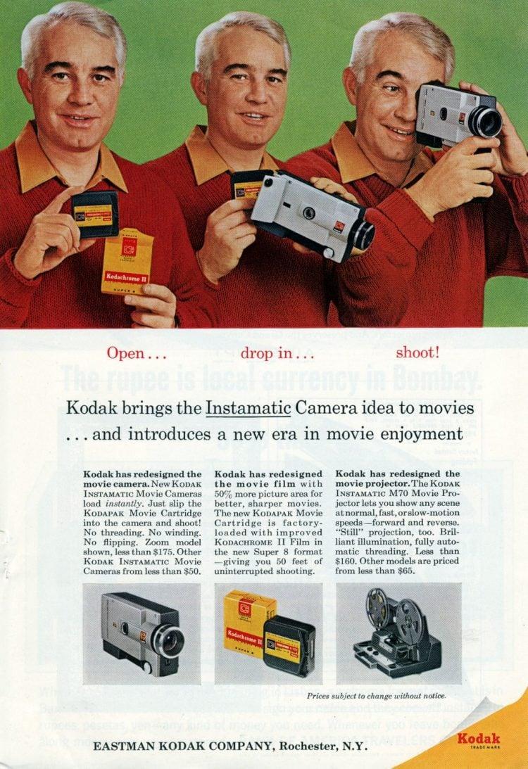 Kodak Instamatic movie camera (1965)
