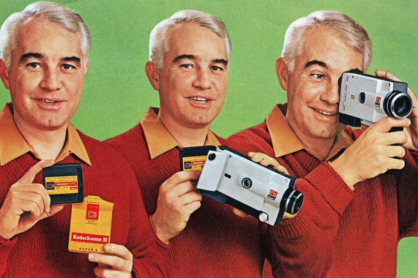 Kodak Instamatic movie cameras from the 1960s