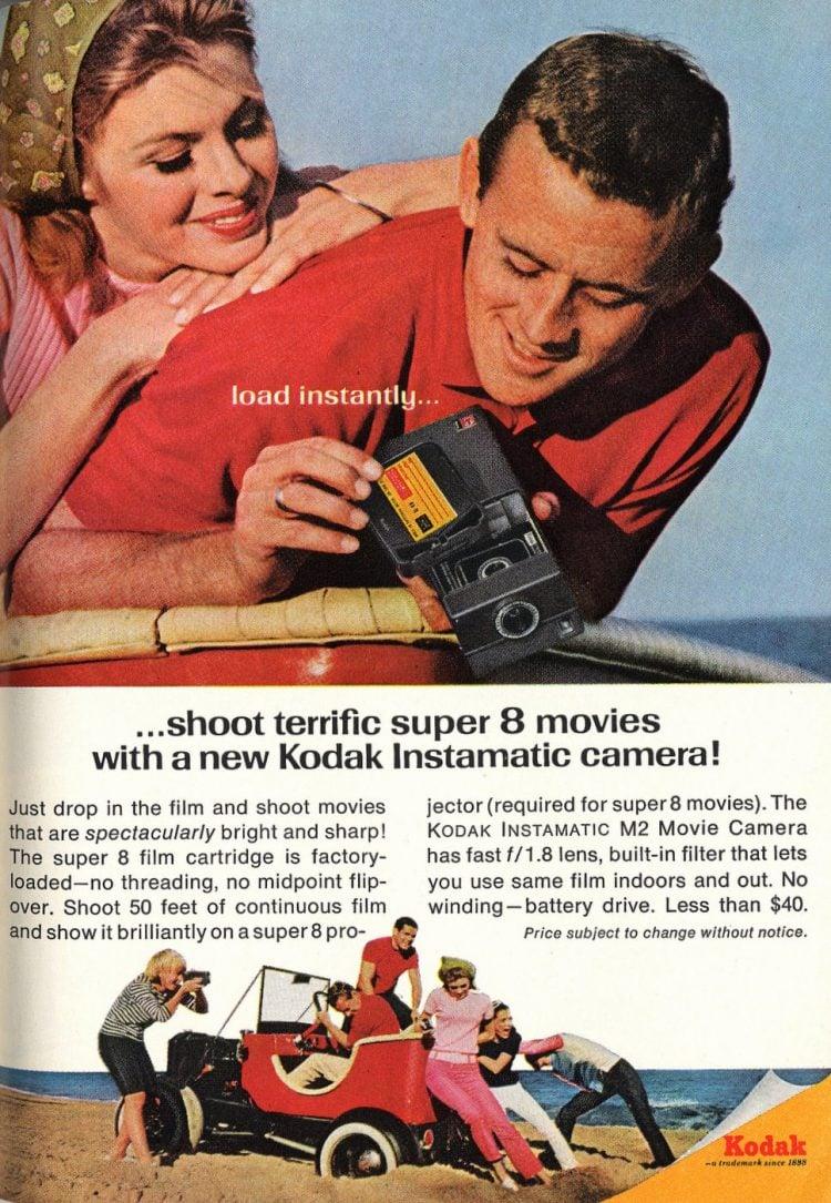 Kodak Super 8 movie camera (1966)