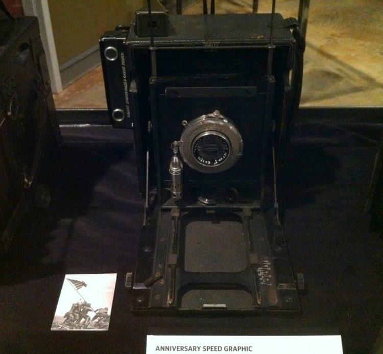 Kodak photography museum camera - Iwo Jima picture