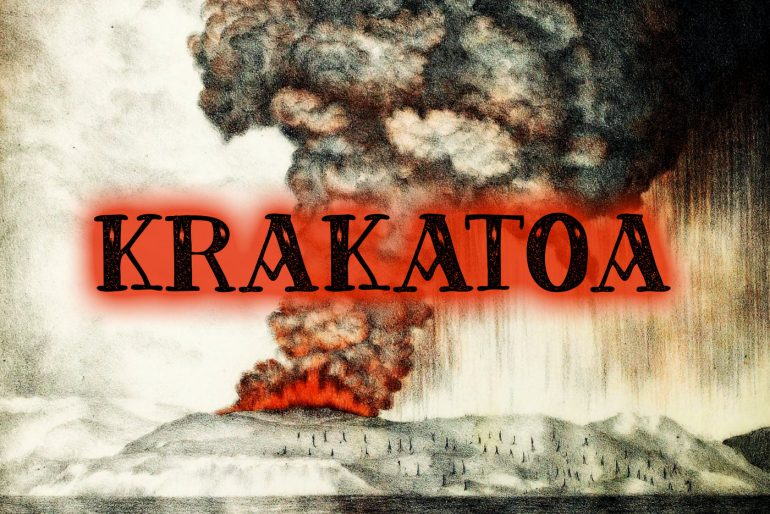 Krakatoa eruption 1883