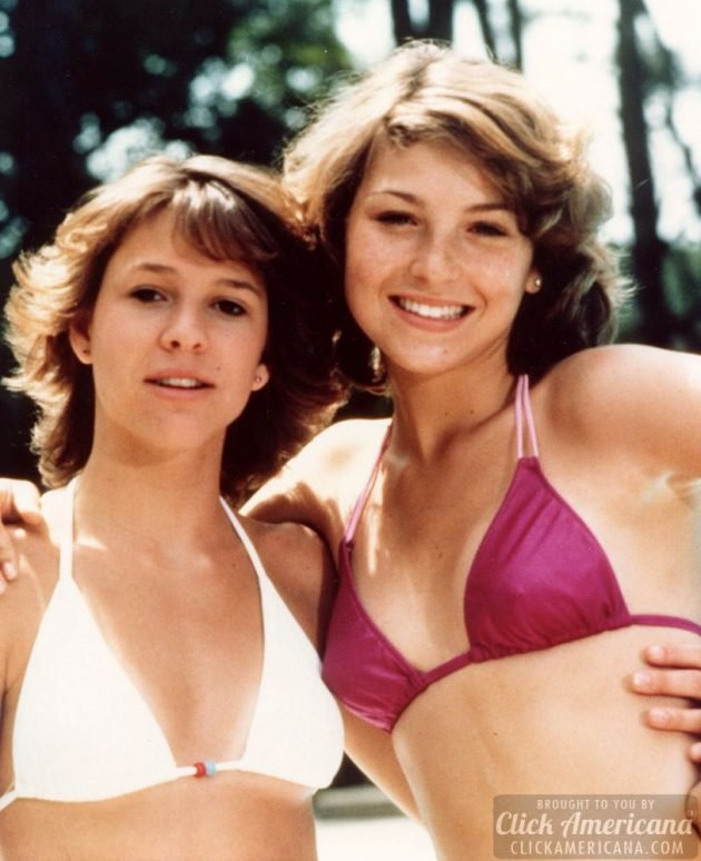 Kristy McNichol and Tatum O'Neal Little Darlings 1980