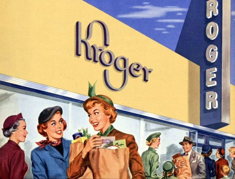 Kroger grocery stores in the 1950s (2)