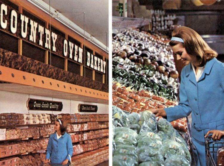 Kroger vintage grocery store - 1967