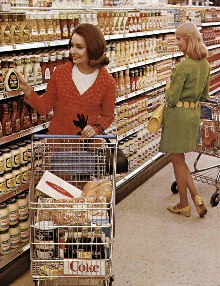 100 vintage 1960s supermarkets - 1968 Kroger