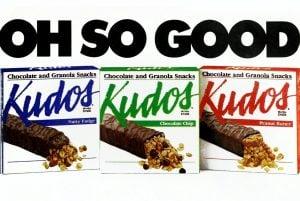 Kudos chocolate granola bars - 1980s 1990s