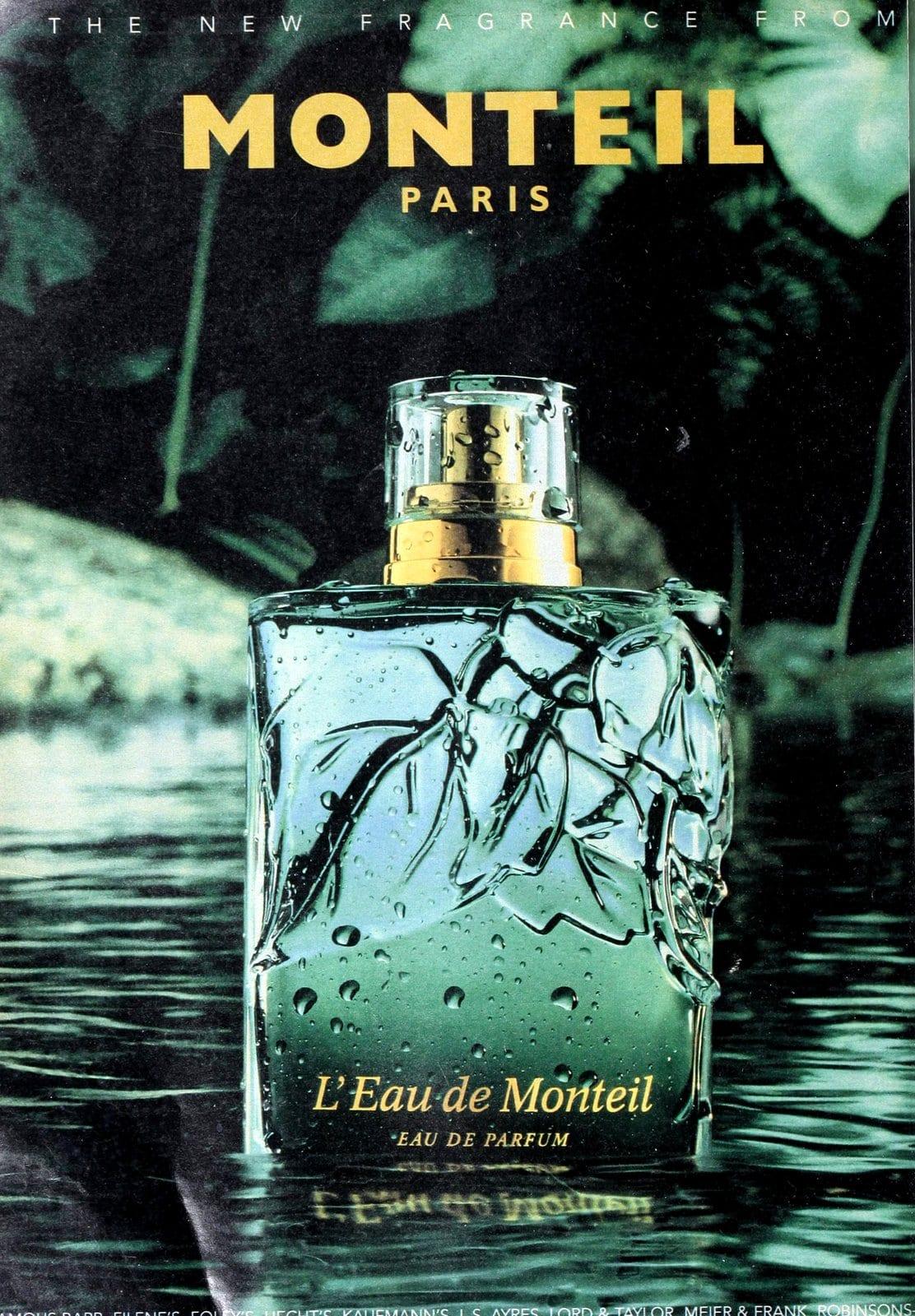 L'Eau de Monteil parfum (1995) at ClickAmericana.com