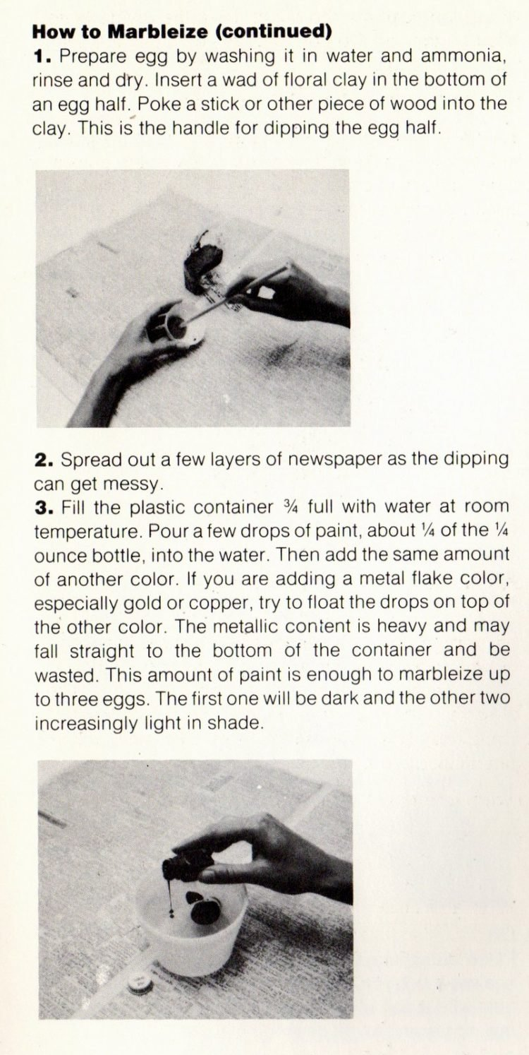L'Eggs craft project tips and techniques - 1970s (3)