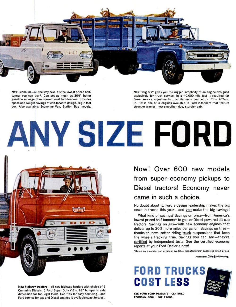 Any size Ford