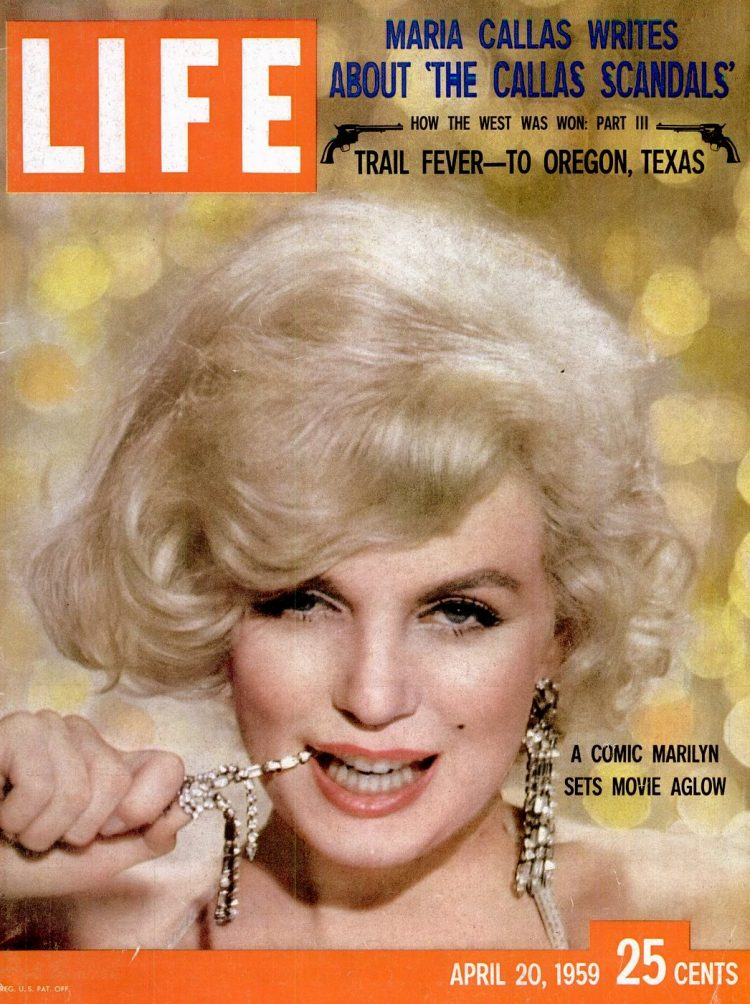 LIFE Apr 20, 1959 Marilyn Monroe cover