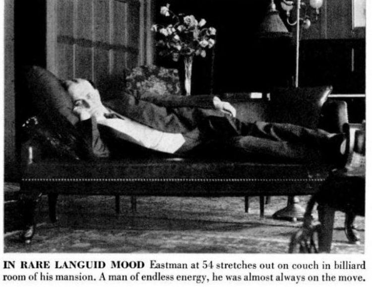LIFE Apr 26, 1954 George Eastman history