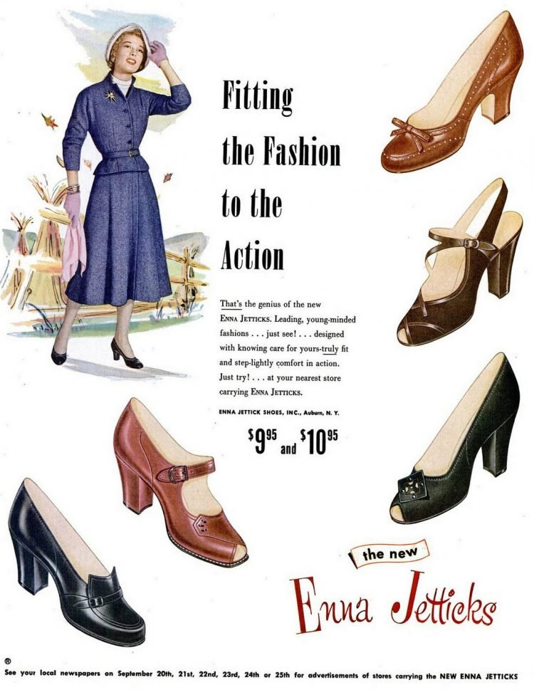 LIFE Apr 4, 1949 shoes