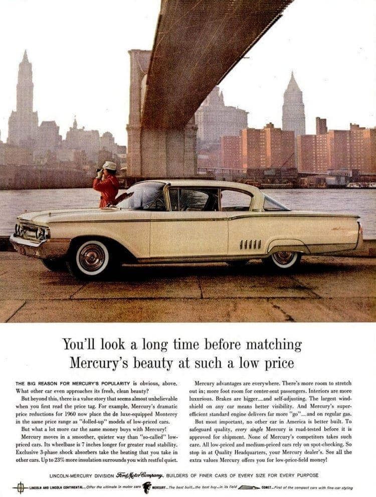The latest Mercury cars for 1960 - Click Americana