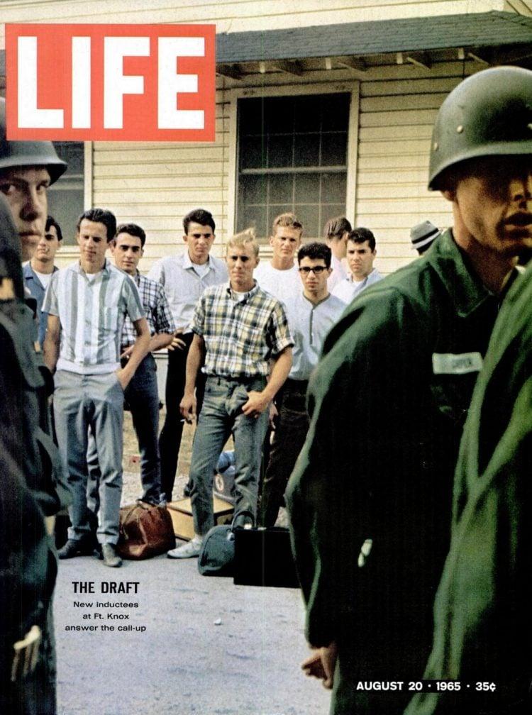 LIFE Aug 20, 1965 - Vietnam War draft