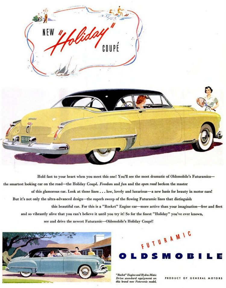 LIFE Aug 22, 1949 Oldsmobile Futuramic