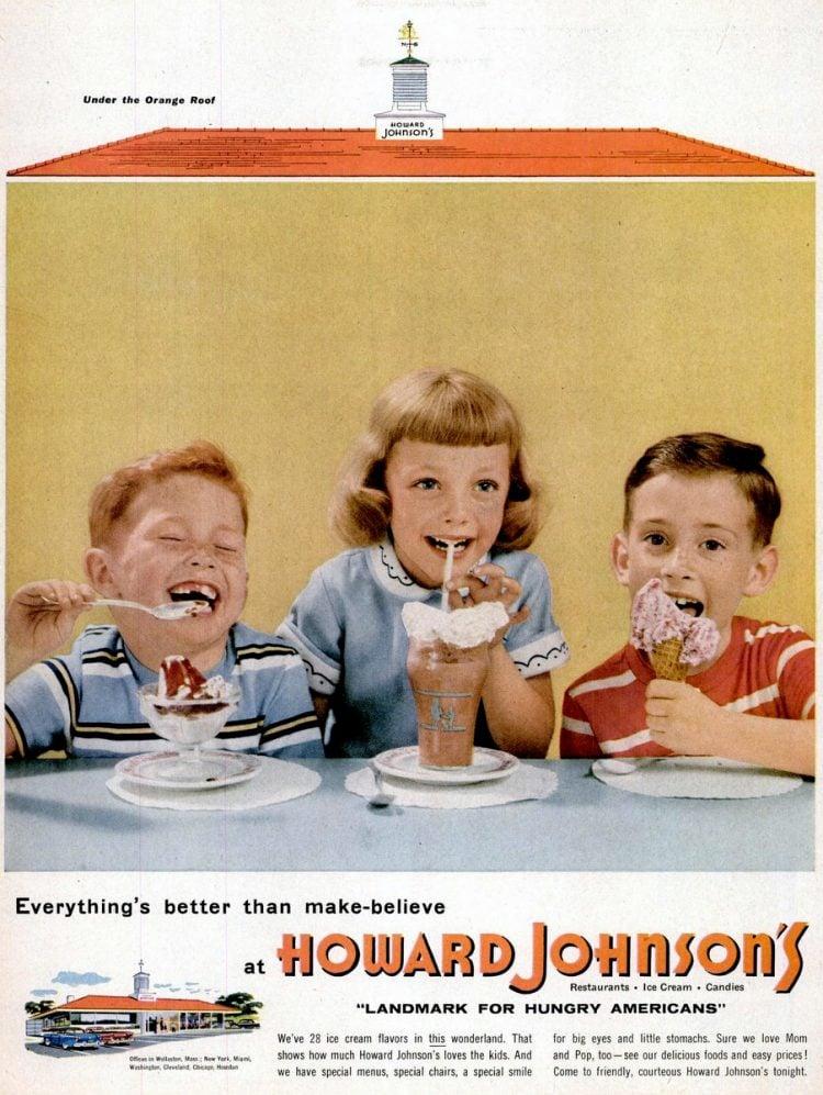 LIFE Aug 8, 1955 Howard Johnson's restaurant