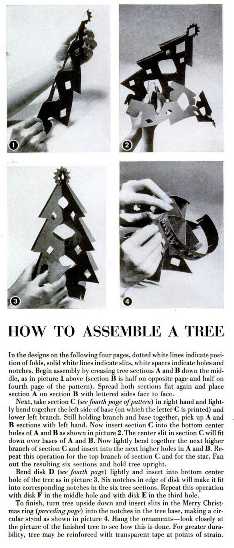 LIFE Dec 25, 1950 christmas decorations crafts 2