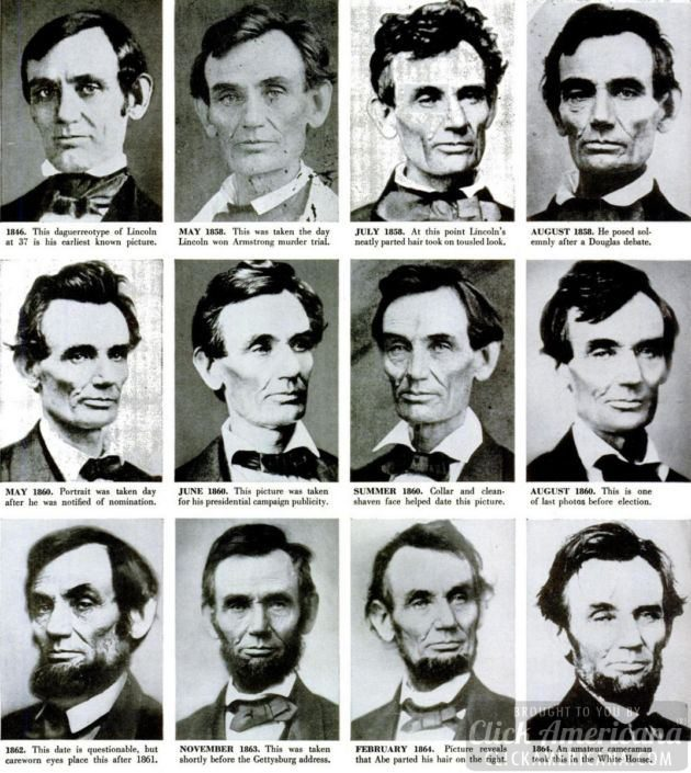 abraham lincoln photo chronology (2)