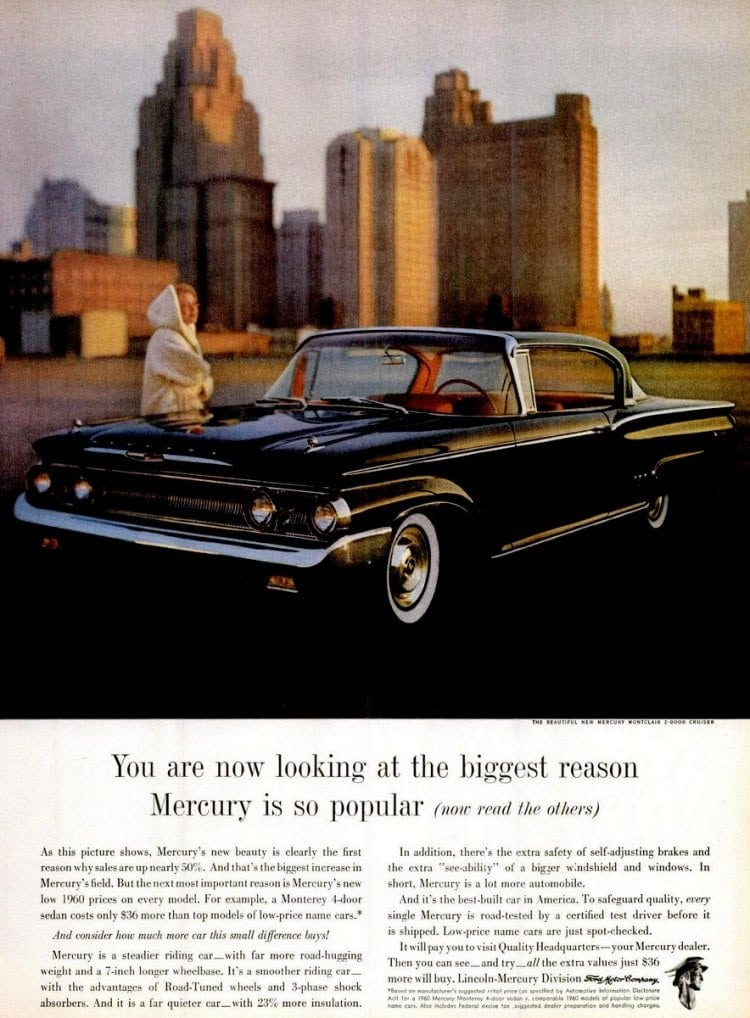 Mercury Monterey 4-door sedan