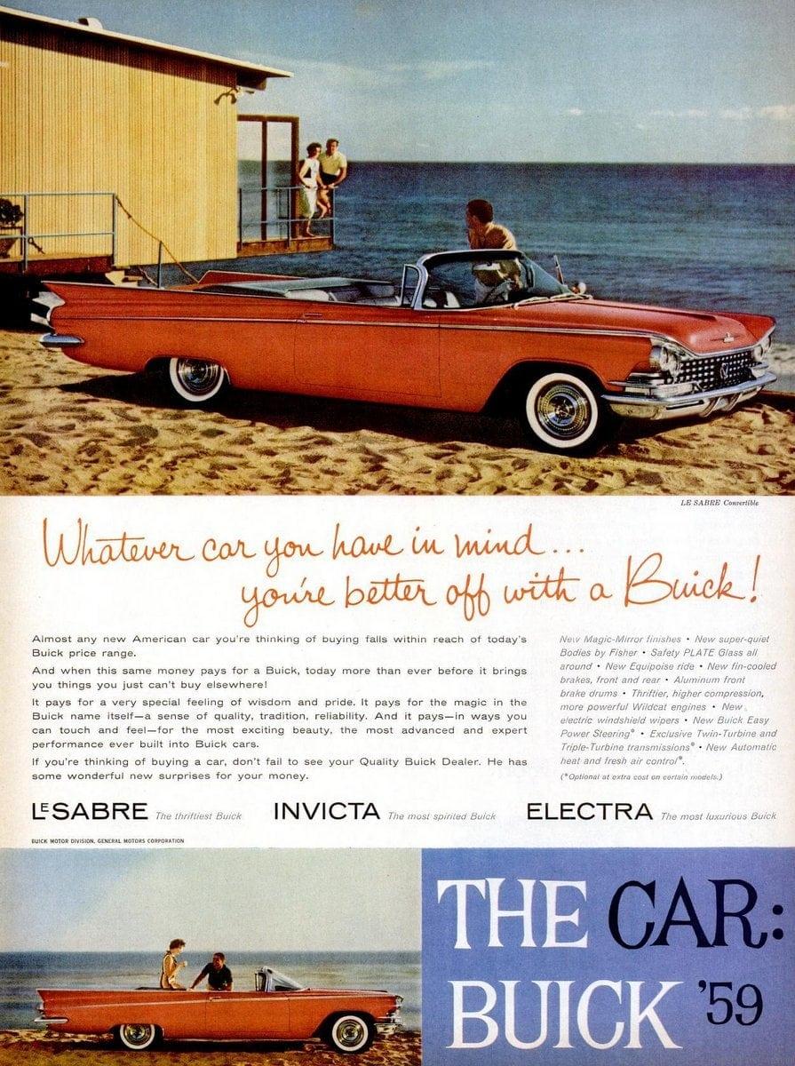1959 Buick Le Sabre 2-door convertible