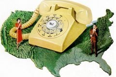 LIFE Feb 17, 1958 Telephones