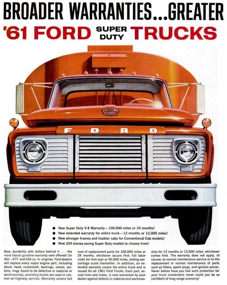 LIFE Feb 24, 1961 Ford Trucks