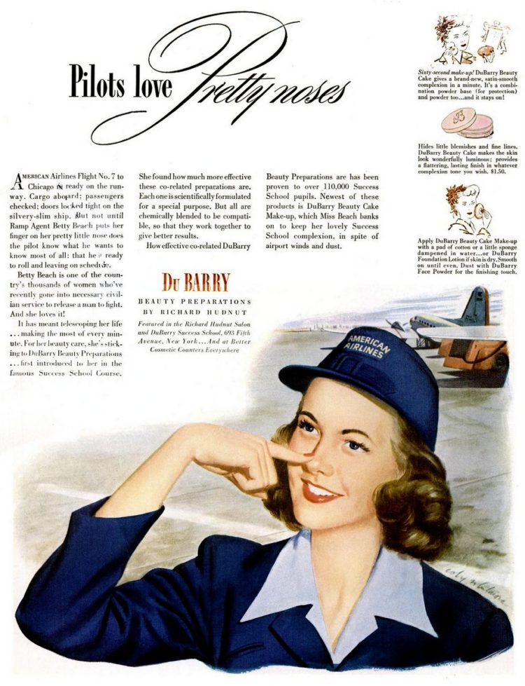 LIFE Jan 3, 1944 Airplane - Pilots love pretty noses