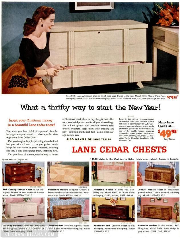 LIFE Jan 5, 1953 hope chest