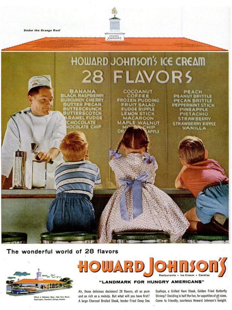 LIFE Jul 18, 1955 Howard Johnson's ice cream