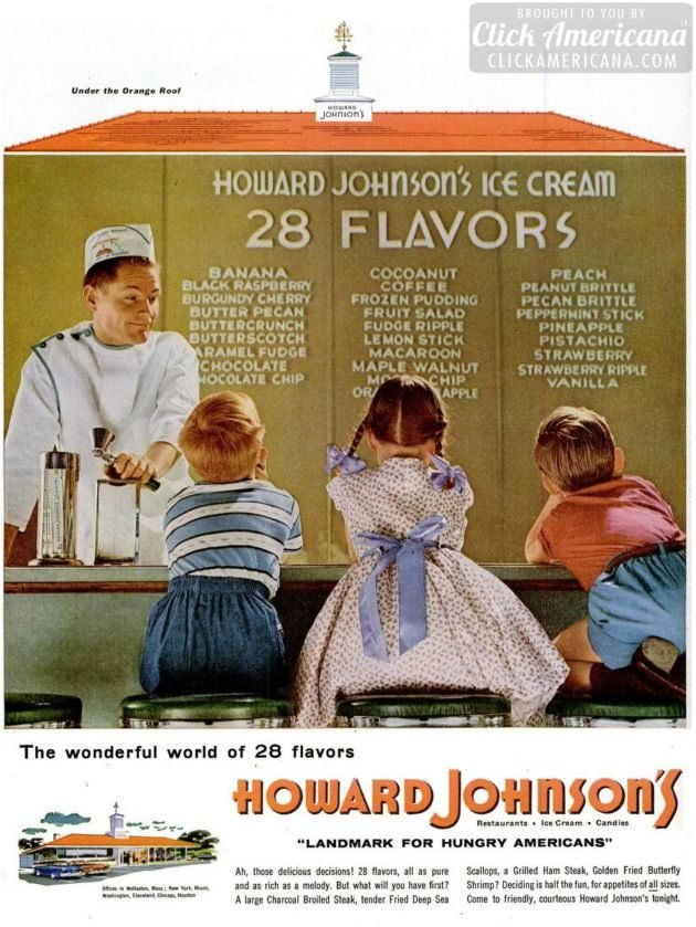 LIFE Jul 18, 1955 Howard Johnson's ice cream