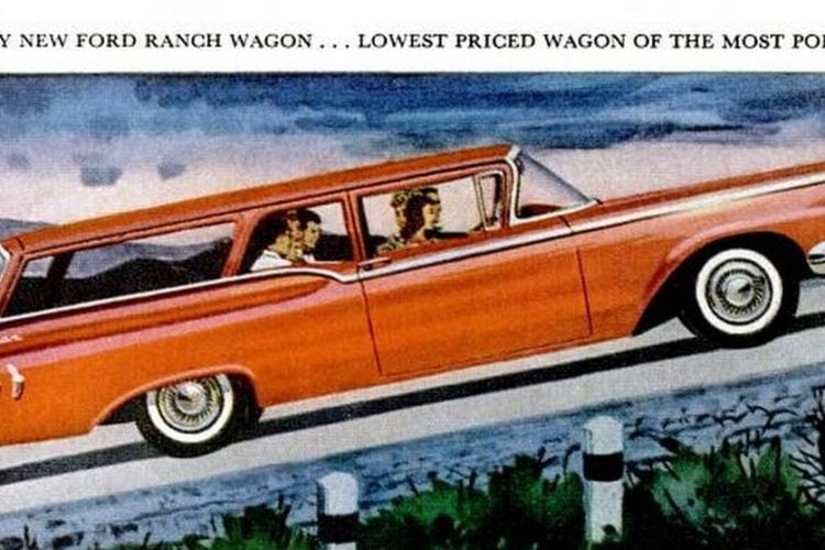 LIFE Jun 1, 1959 Ford Station Wagon