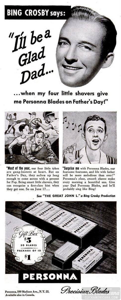 LIFE Jun 11, 1945 bing personna
