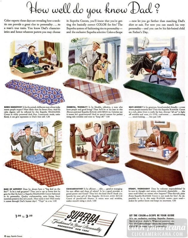 LIFE Jun 11, 1945 ties