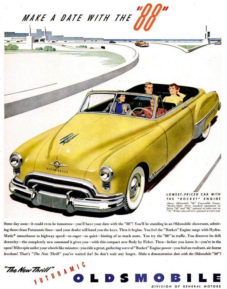 LIFE Jun 13, 1949 Oldsmobile Futuramic