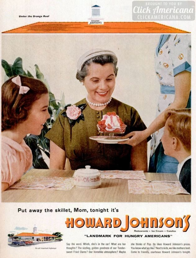 LIFE Jun 13, 1955 Howard Johnson's